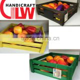 wood strawberry baskets, china supplier fruit crate for wholesale, goldlion linyi shandong                                                                         Quality Choice