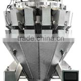 10 heads multihead weigher for soft strip rice noodle ,bean sprout with CE certification