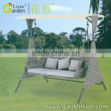 outdoor hanging relax garden swing chair cover