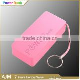 Professional Portable manual for power bank 5600mah phone charger Promotional Perfume Power Bank