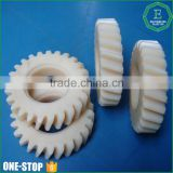 Wholesale flexible industry use polyamide hard big nylon plastic helical gear wheels for marine industries