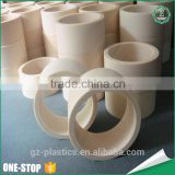 High pressure customized any diameter and length engineering white plastic pipe plastic nylon tube