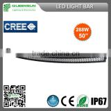 2016 NEW 5inch 288w led light bar For Some Vehicles,Ship,Trucks and Other Illumination DRCLB288-C