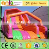 Giant rainbow inflatable water slide for kids and adults                                                                                                         Supplier's Choice