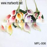 Factory price artificial flower for wedding events&party; Emulational Calla lily(MFL-006)
