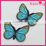 hot Vivid butterfly designs sew on garment