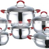 12 pcs cookware set,cooking pot