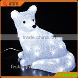 2016 Christmas Holiday decoration led 3d motif animal/fox christmas light