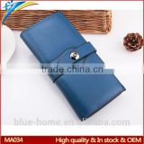 Professional factory first top sale Long purse and handbag Magnetic closure Name brand ladies party clutches purse