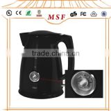 1.7L Plastic Electric kettle with thermometer