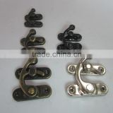 Antique Bronze Metal Hook Purse Lock for wholesale cheap factory price