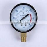 Durable Light Weight Easy To Read Clear Diesel Engine Generator 52Mm Oil Pressure Gauge/Oil Pressure Meter