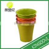 Indoor terracotta New type Eco-friendly biodegradable bamboo fiber flower pot/planter New type