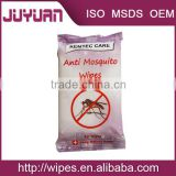 Manufacture medical wet wipes tissue/mosquito repellent wipes tissue OEM Welcome