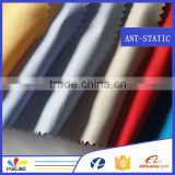 wholesale 100% cotton protective textile EN1149 factory uniform material esd antistatic fabric