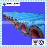 Ceramic-lined composite steel pipe