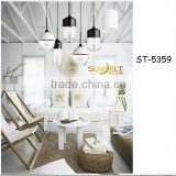 ST-5359-C Sunbelt guzhen modern glass chandelier lights,220v chandeliers & pendant lights ceiling lights,santa head fiber light
