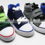 CHINA CASUAL FASHION VELCRO CANVAS SAFETY KID SHOE 2015
