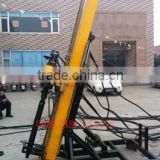 AK50 Front Mounted Adjustable Top Drive Drilling Rigs , Heavy Duty Pretension Anchor Hydraulic Drilling Machine