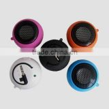 2016 HOT sell Hamburger Mini fashional Speaker for Laptop Computer iPod iPhone with 3.5 mm jack