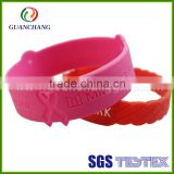 Rfid motivational silicone wristbands