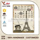 Advertising Promotion Custom-Tailor Calendar 3D Decorative Plaque Buddha Wall Plaques