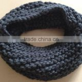 Fashion Women's Thick Chunky Knitting Fat Acrylic Infinity Scarf Neck Warmer