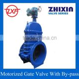 Motor Operated Gate Valve DN1000(40 inch) PN10 with Bypass