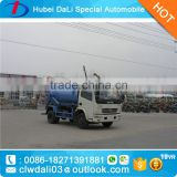 4x2 4m3 liquid waste suction truck