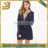 Open front hooded cardigan 2015