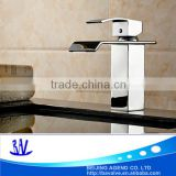 Hot modern bathroom faucet waterfall mixer bath taps sink mixer tap