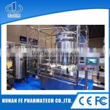 Complete line for normal saline bottle washing filling and capping