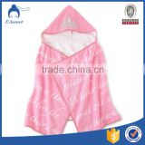 hot sale pure cotton towel adult hooded poncho beach towel