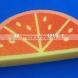 fruit shaped and colourful bath cleaning sponge                                                                         Quality Choice