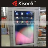 "46""LCD Advertising Display Kiosk Stand Alone Booth Machine For Building, Shopping Mall"