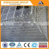 2015 hot sale galvanized/pvc coated gabion box/gabion basket/gabion stone box low price!