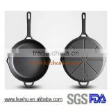 High quality new design cast iron skillet fry pan                                                                         Quality Choice
