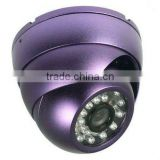 RY-8002 High Resolution 600TVL CMOS Security Indoor outdoor wide angle 3.6mm CCTV IR Dome Camera