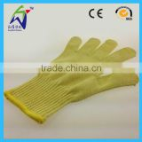 Cheap price cut resistant gloves level 5 electrical safety gloves