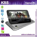 7 Inch 7 Wifi 3G Android 4.2 Mid Tablet Pc 3D Game Supporting Quad Core And Bluetooth 2.0