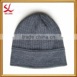 BSCI Audit Pure Colour Winter Knitted Beanie Hat Ski Knitted Crochet Beanie Hat Cap Beret