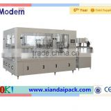 2000 bottles per hour glass bottle beer filling machine
