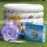 PVC inflatable portable baby swim pool
