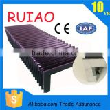 cnc rubber machine shield made in china hebei ruiao most popular flexible bellows cover