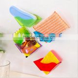 Double Suction Cup Sink Shelf Soap Sponge Drain Rack / Bath Kitchen Sucker Storage / storage rack Bathroom Shelves