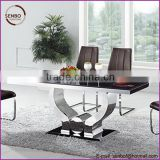 wooden dining table with glass top, frosted glass top dining table, tempered glass table top