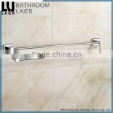 20625 hot selling products square design walll mounted zinc bathroom accessories double towel rail