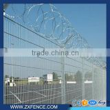 wire mesh fence/airport wire mesh fence/pvc coated wire mesh fence/ welded wire mesh fence/Razor barbed wire fence for airport