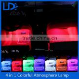 4-in-1 DC 12V Car styling Interior Decoration Light Lamp LED Atmosphere Lights Decoration Lamp