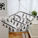 26 Clips Stainless Steel Aluminum Clothes Drying Rack Hanger Socks Shorts Underwear Drying Hanger Multifunctional drying shelf